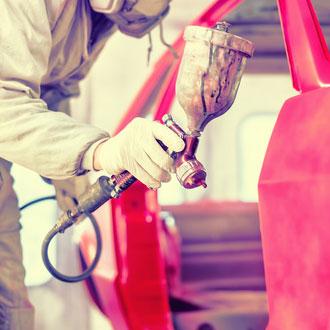 Peinture en carrosserie
